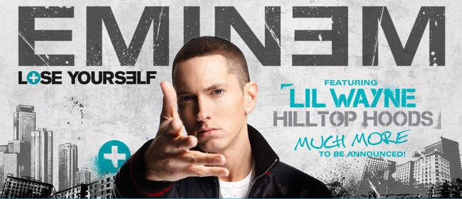Eminem Australian Tour
