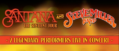 Santana and Steve Miller Band Australian Tour