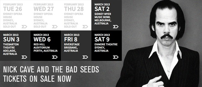 Nick Cave & The Bad Seeds Australian Tour