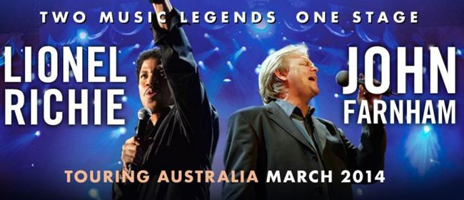 Lionel Richie and John Farnham 2014 Tour