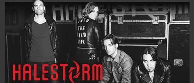 Halestorm Australian 2015 Tour