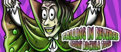 Falling In Reverse - Count Rockula Tour