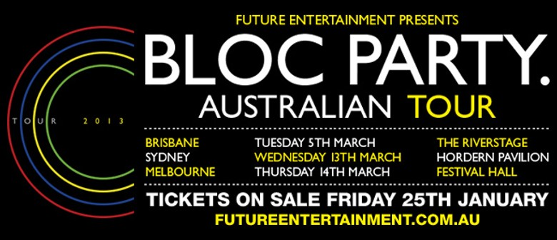 Win tickets to Bloc Party!