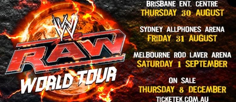 WWE 2012 - RAW World Tour