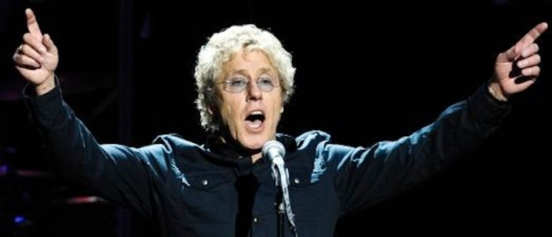Roger Daltrey: CANCELLED