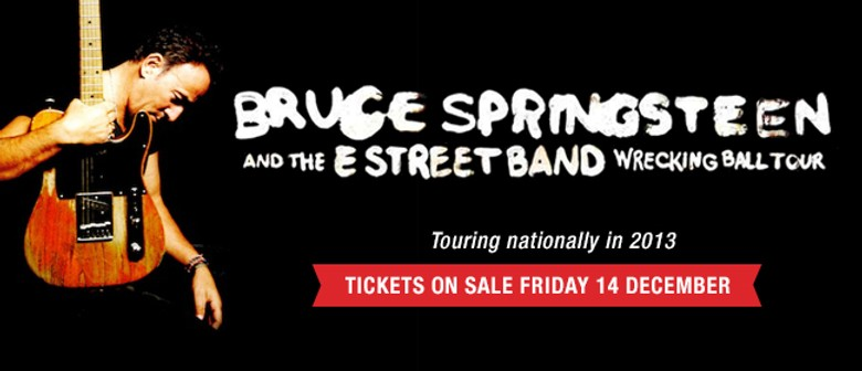 Bruce Springsteen and the E Street Band: SOLD OUT