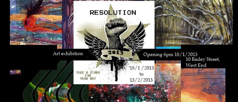 Resolution Art Exhibition