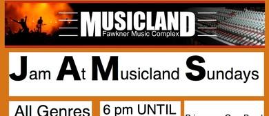 Jam At Musicland Sundays - J.A.M.S