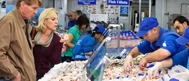 Easter Feastival at Sydney Fish Market