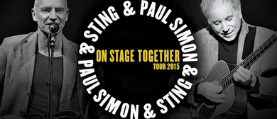 Sting & Paul Simon - On Stage Together Tour 2015