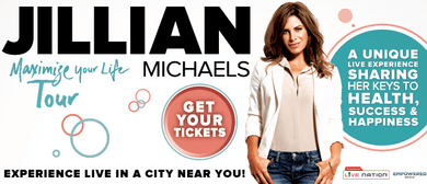 Jillian Michaels - Maximise Your Life Tour