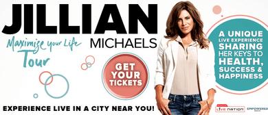 Jillian Michaels - Maximise Your Life Tour