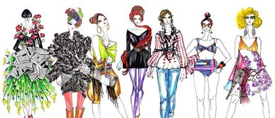Fashion Illustration Workshop with Lorena Balea-Raitz