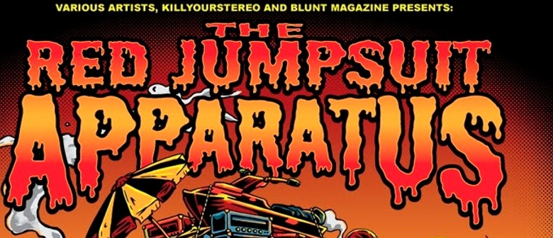 Red Jumpsuit Apparatus 2014 Australian Tour