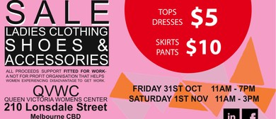 The Conscious Closet Sale