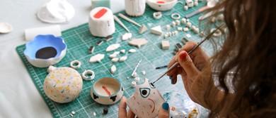 Small Porcelain Pieces Ceramic Workshop