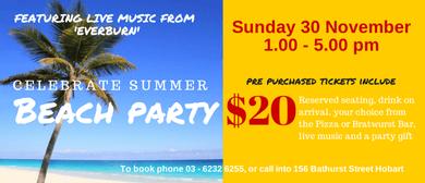Celebrate Summer Beach Party
