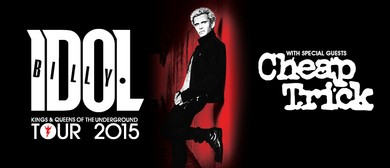 Billy Idol - Kings and Queens of the Underground 2015 Tour
