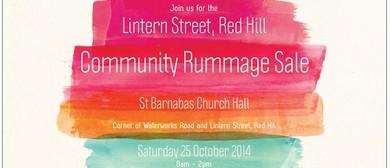 Lintern Street Community Rummage Sale