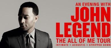 John Legend - The All of Me Tour