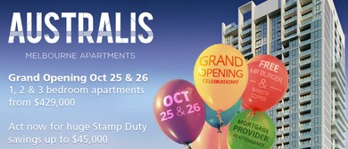 Australis Apartments Grand Opening