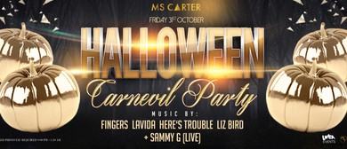 Ms. Carter Halloween Carn-Evil Party