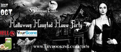 Halloween Haunted House Party 2014