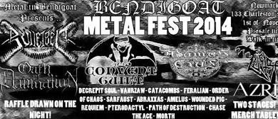 Bendigoat Metal Festival - Bulletbelt 2014 Tour