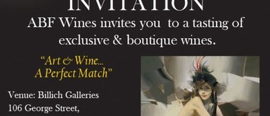 ABF Wines - Billich Galleries  Wine tasting