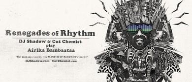 DJ Shadow & Cut Chemist Renegades of Rhythm Tour