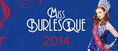 Miss Burlesque Australia 2014