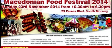 3rd Annual Macedonian Food Festival