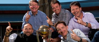 ICC Cricket World Cup 2015 Trophy Tour at Wolf Blass Winery