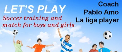 """Kids Soccer Party With """"Paella"""" In the Park"""