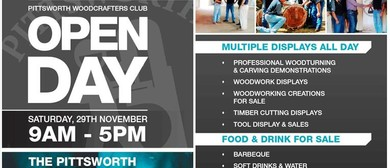 Open Day - The Pittsworth Woodcrafters Club