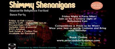 Shimmy Shenanigans Dance Party Bellydance Festival