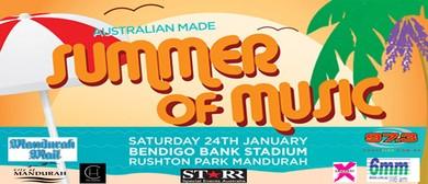 Australian Made Summer of Music
