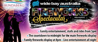 Wide Bay Australia Fireworks Spectacular