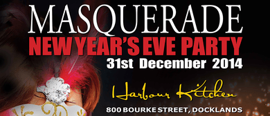 New Years Eve Masquerade Party - NYE - 2014