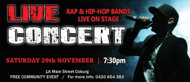 Rap and Hip Hop Concert