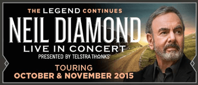 Neil Diamond World Tour 2015