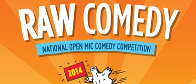 Raw Comedy 2015 - QLD State Final