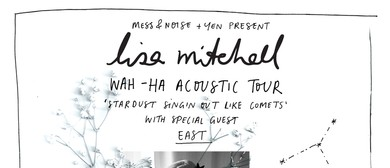 Lisa Mitchell Wah Ha Acoustic Tour