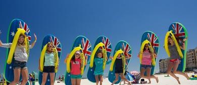Havaianas Australia Day Thong Challenge
