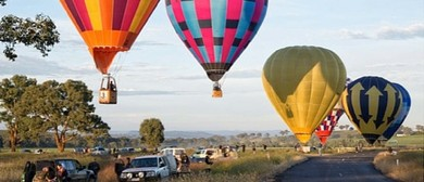 Canowindra International Balloon Challenge 2015
