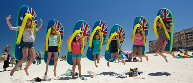 Birthday on Bondi - Havaianas Australia Day Thong Challenge