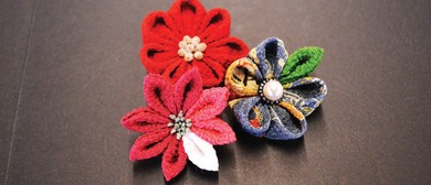 Japanese Kanzashi Flowers Workshop
