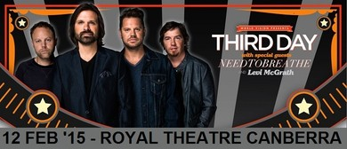 Third Day - Make a Difference Tour with Needtobreathe