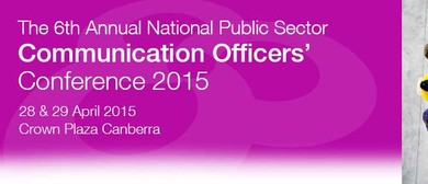 The 6th Annual National Public Sector Communications Officer