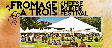 Fromage a Trois- Cheese and Cider Festival